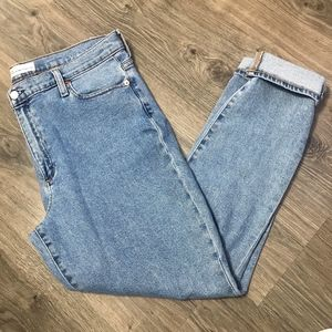 Gap True Skinny High Rise Light Wash Jeans 33